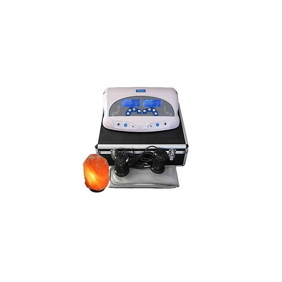 IonizeME Pro Dual Ionic Detox Foot Bath System with Infrared and Salt Lamp