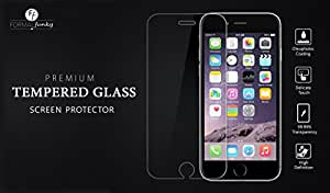 ZTE Nubia Z9 Mini Formal Funky™ Tempered Glass Screen Protector with Microfiber Cloth, Alcohol Swab and Placement Instructions /Curved Corners/Clear/Bubble free Placement/Scratch Resistant