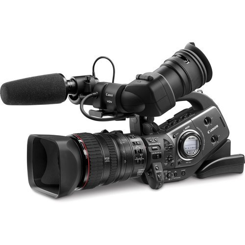 Canon XL-H1A 3CCD HDV High Definition Professional Camcorder with 20x HD Video Zoom Lens III