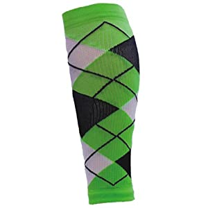 Buy Red Lion Argyle Pattern Compression Leg Sleeves (Sold As Pair) by Red Lion