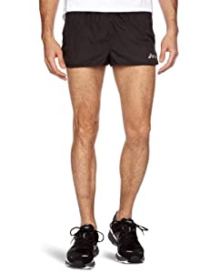 Asics Hermes Split, Short black (Size: XXL) running pants
