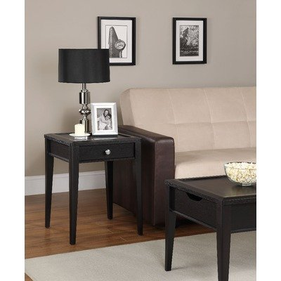 Cheap End Table with Laptopper in Black Espresso (B00756VDXK)