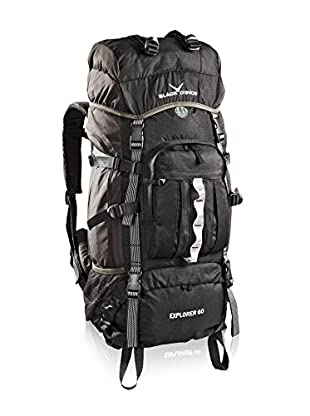 Black Crevice Mochila Explorer 60L (Negro)