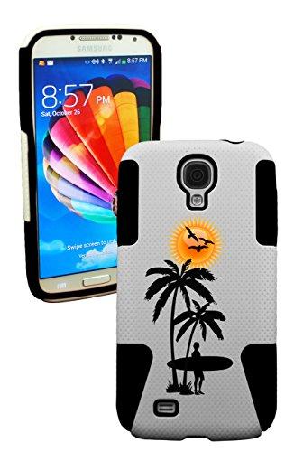 Phonetatoos (Tm) For Galaxy S4 Vacation Plastic & Silicone Case-Lifetime Warranty (Black)