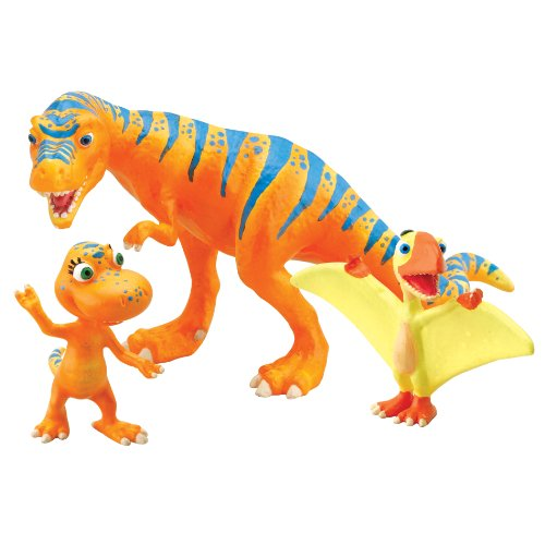 Learning Curve Dinosaur Train - Collectible Dinosaur 3 Pack - Boris, Annie, Pete