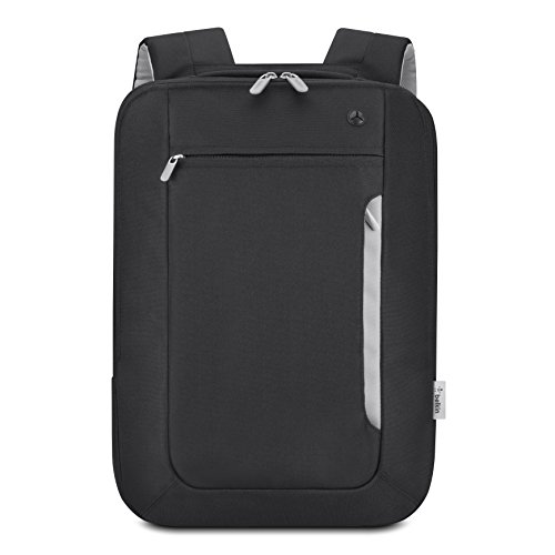 belkin-slim-polyester-backpack-for-laptops-and-notebooks-up-to-154-black-light-gray