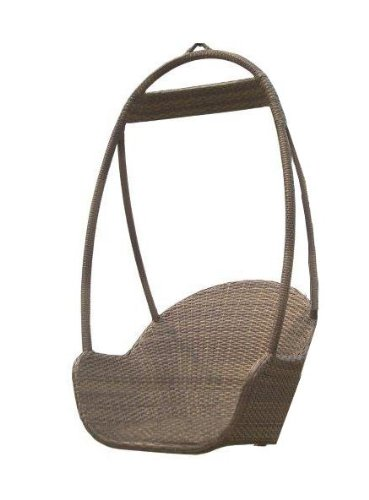 Panama Jack Outdoor Island Cove Woven Hanging Chair photo