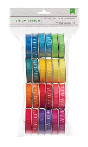 Find Cheap American Crafts 24 Extreme Value Neon Ribbon