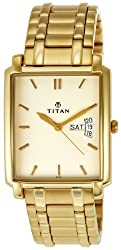 Titan Regalia Analog White Dial Mens Watch - NE1506YM01