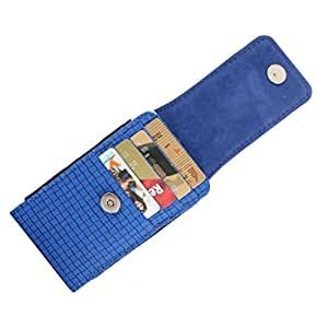 DooDa PU Leather Pouch Case Cover With Magnetic Closure For Spice Stellar 517