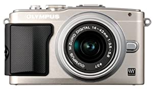 Olympus E-PL5 Interchangeable Lens Digital Camera with 14-42mm Lens (Silver)