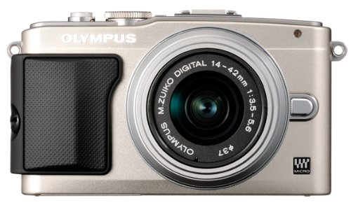 Olympus E-PL5 Mirrorless Camera Kit with 14-42mm f/3.5-5.6 Lens (Silver)