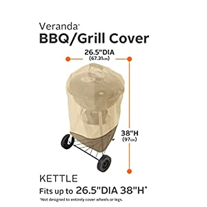 Classic Accessories 73422 Veranda Kettle-Style Barbecue Grill Cover from Classic Accessories