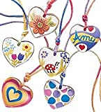 Color My Heart Pendant Necklace Craft Kit