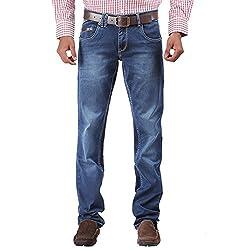 Trigger Men's Regular fit Blue JeansB44K-231S