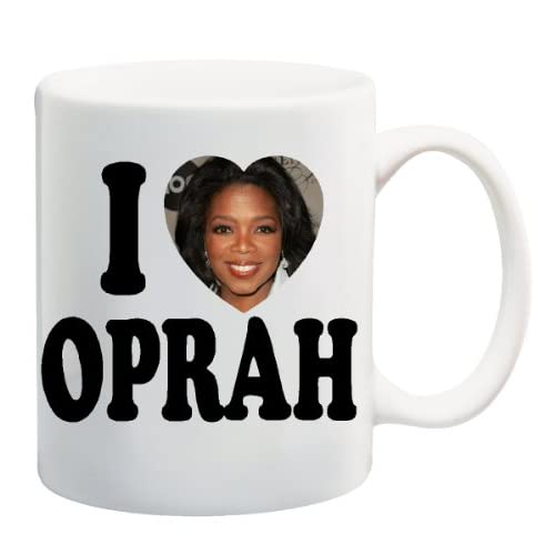 Amazon.com : I LOVE OPRAH Mug Coffee Cup 11 oz : Everything Else