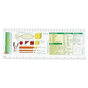 Amazon.com: Dexter Russell 182247 Classic Knife-Cuts Ruler