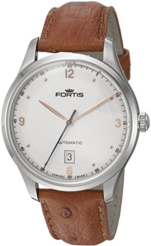 Fortis-Mens-9032112-LO38-Tycoon-Date-Analog-Display-Automatic-Self-Wind-Brown-Watch