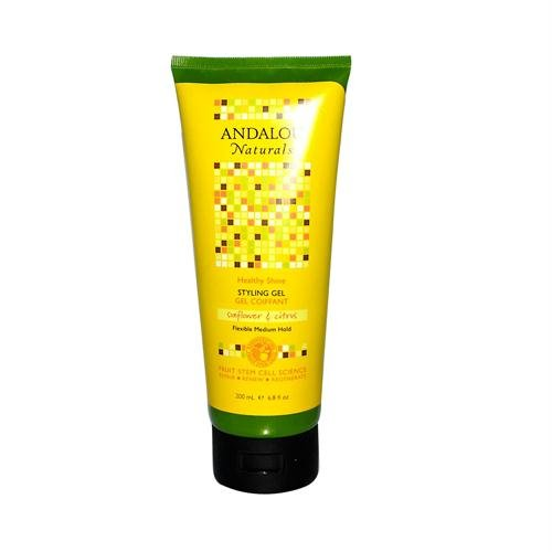 Andalou Naturals Styling Gel Flexible Medium Hold Sunflower