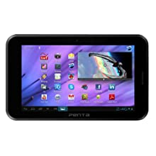 BSNL Penta T-Pad WS708C-2G Tablet (WiFi, 3G via Dongle, Voice Calling), Black