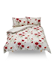 Poppies Print Bedset