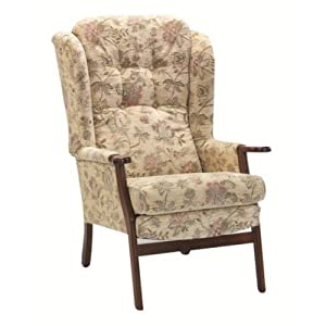 Luxury keswick orthopedic high seat chair for the elderly for Comfortable chairs for seniors