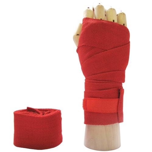 RED Pro Boxing/Martial Arts Hand Wraps Bandage
