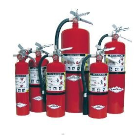 Amerex B402 ABC Multi-Purpose Fire Extinguisher, 5 lb.