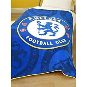 Official Kids Chelsea Football Printed Fleece Blanket