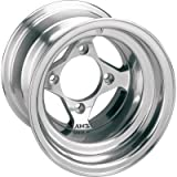 AMS Polished Cast Aluminum Rear Wheel - 10x8, 4/115, 3+5 , Material