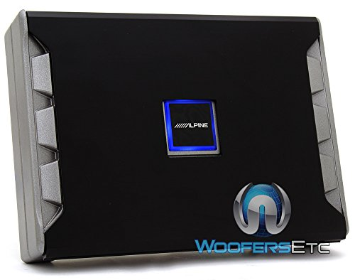 Alpine Pdr-M65 Mono Subwoofer Amplifier - 650 Watts Rms X 1 At 2 Ohms