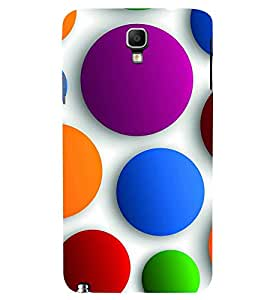 PRINTSWAG COLOUFUL BALL Designer Back Cover Case for SAMSUNG GALAXY NOTE 3 NEO