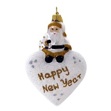 Landmark Creations From Santa With Love: Happy New Year Ornament, 3′