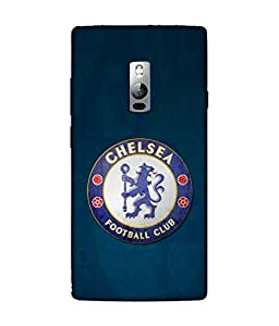 chnno Chelsea 3D Printed Back cover for OnePlus 2 -Multicolor