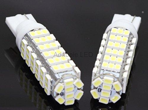 T10 80 Smd1206 Led White Super Bright Car Lights Bulb - 194,168,2825, W5W L38 @ 147, 152, 158, 159, 161, 168, 184, 192, 193, 194 2849 Compare To Sylvania Osram Phillips