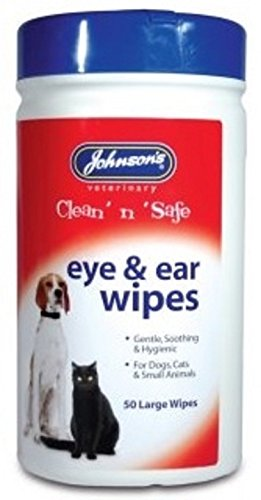 Artikelbild: Johnsons Clean N Safe Dog Cat Small Pet Ear & Eye Wipes