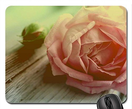 Withered peach rose Mouse Pad, Mousepad (Flowers Mouse Pad)