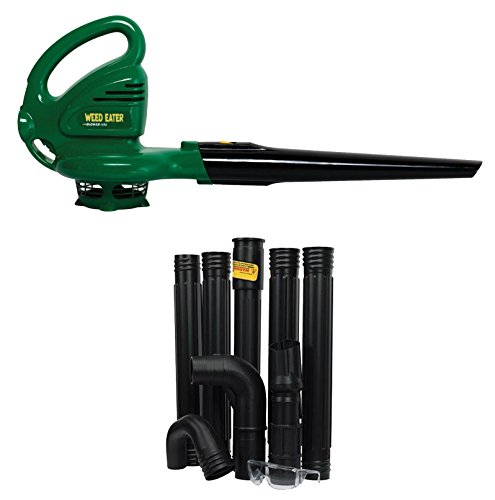 NEW Weed Eater Poulan WEB160 Electric Leaf Blower w/ Gutter Cleaning Attachment