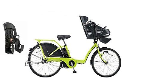 2015年モデル Panasonic【パナソニック】 Gyutto DX【ギュット DX】 26インチ電動自転車 +純正リヤチャイルドシート(NCD366AS) (フレッシュグリーン)