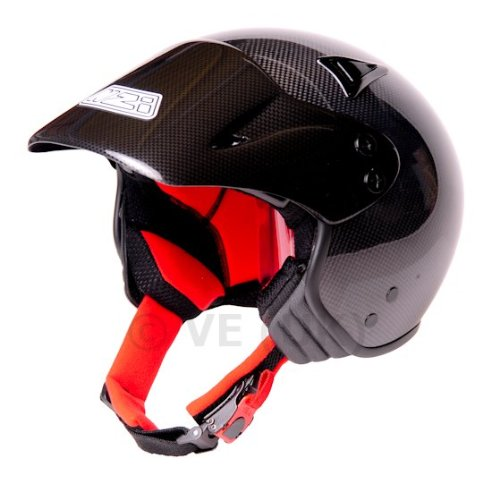 NZI TRIALS CARBON FIBRE HELMET - SMALL-55-56cm: motorcycle helmet