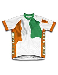 Cote Flag Short Sleeve Cycling Jersey for Women
