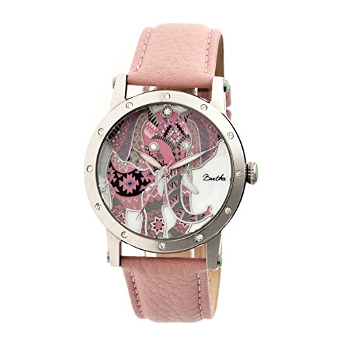 bertha-womens-bthbr5702-betsy-light-pink-multicolor-leather-watch