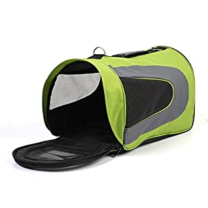 Amzdeal Portable Pet Carrier Travel Carrying Shoulder Bag for Dogs,Puppies and Cats 18 Inch