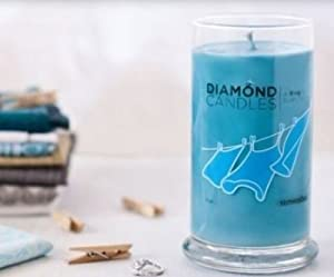 Sunwashed Diamond Ring Jar Candle (Rings Inside Value From $10 to $5000)