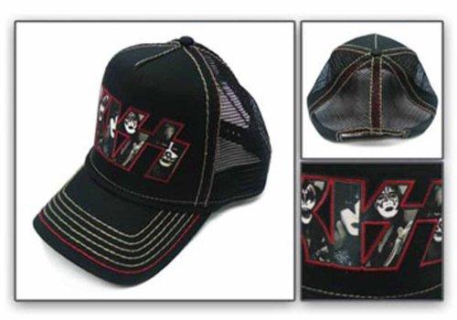 Kiss-Photo Collage-Cappello Trucker