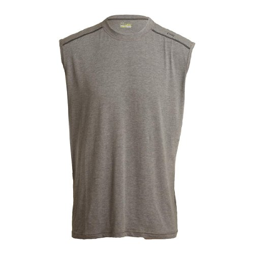 Tasc Performance Men'S Core Sleeveless T-Shirt, Heather Gray, Large front-1015761