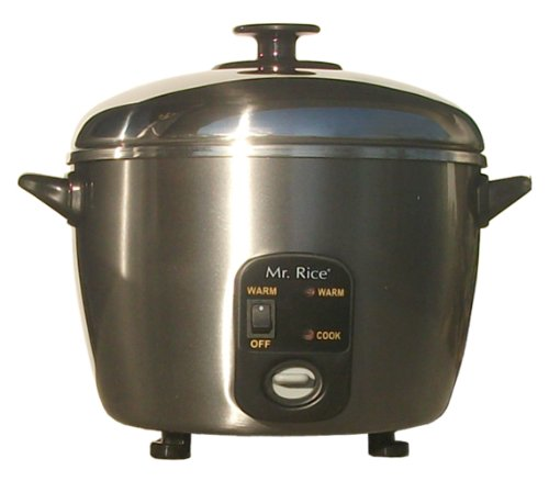 Sunpentown SC-889 10-Cup Stainless-Steed Rice Cooker and Steamer