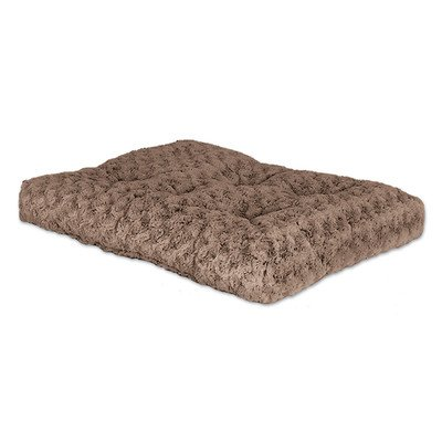 Mid-West Homes For Pets Ombre Mocha Swirl Fur Dog Bed, Browns, All Other Materials, 36 In. front-41806