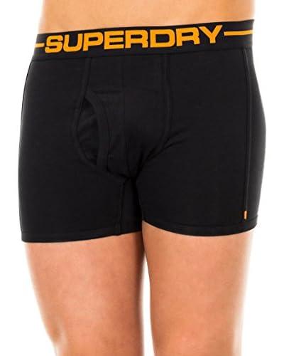 Superdry 2tlg. Set Boxershorts schwarz