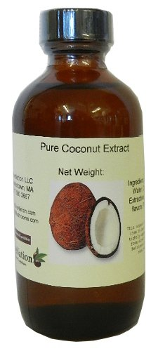 Pure Coconut Extract 4 oz by OliveNation